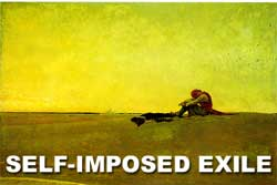 Self-Imposed Exile